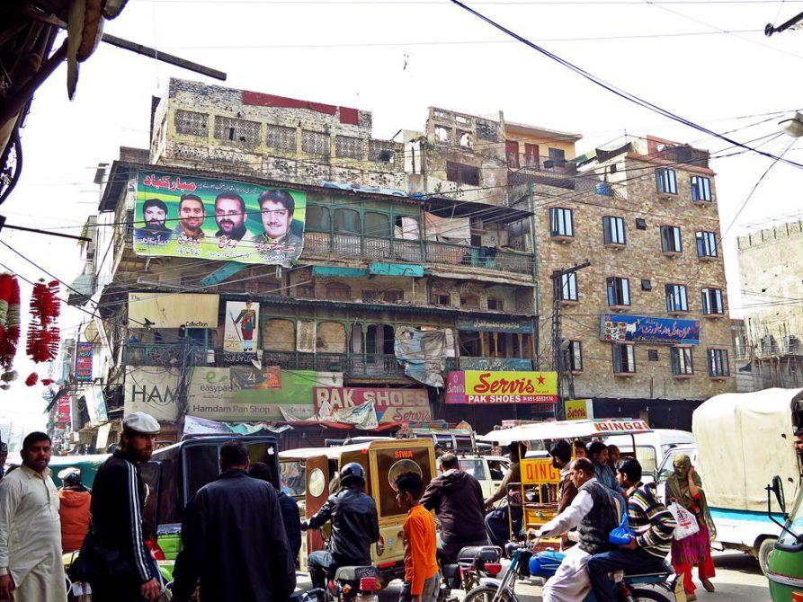 Atlstadt von Rawalpindi, Pakistan