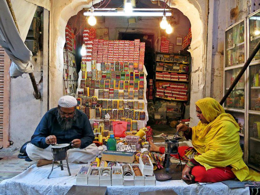 Händler in Rajasthan, Indien