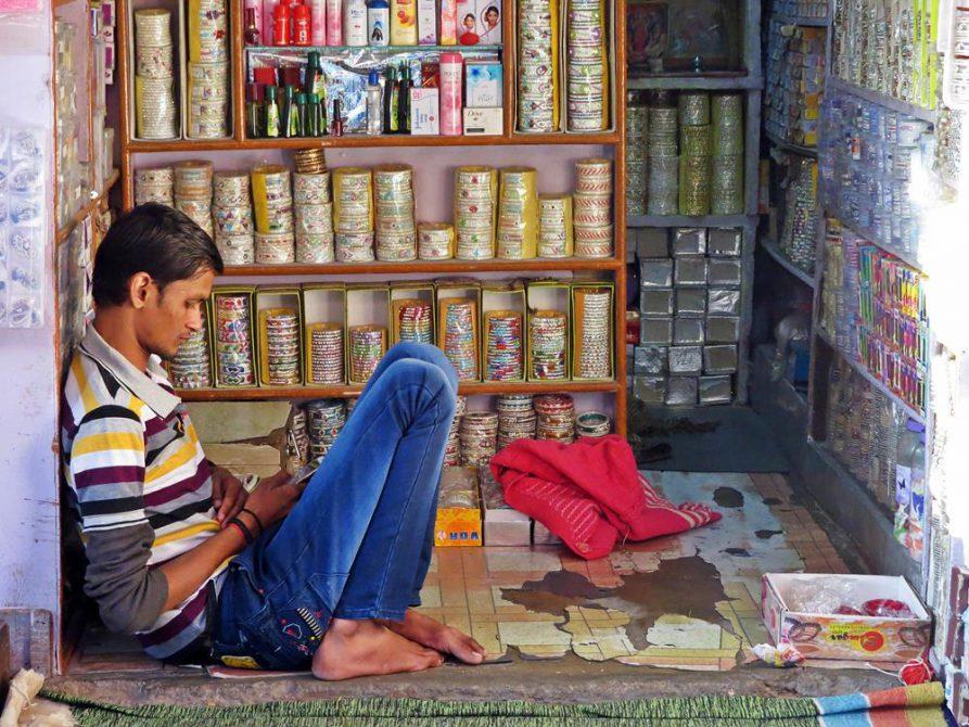 Verkäufer, Indien