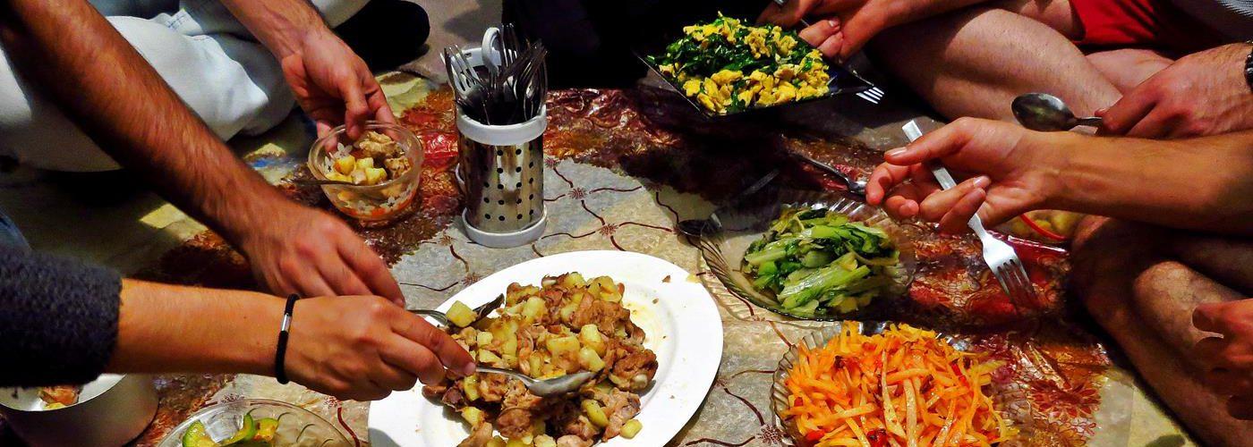 chinesischen Abendessen im Iran