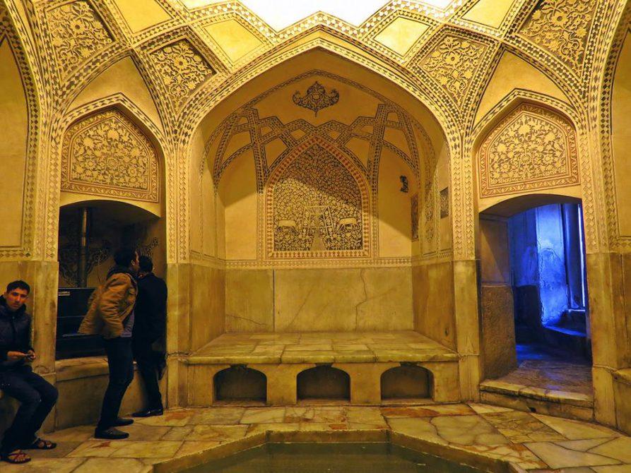 Badehaus in der Festung Arg-e Karim Khan, Schiras