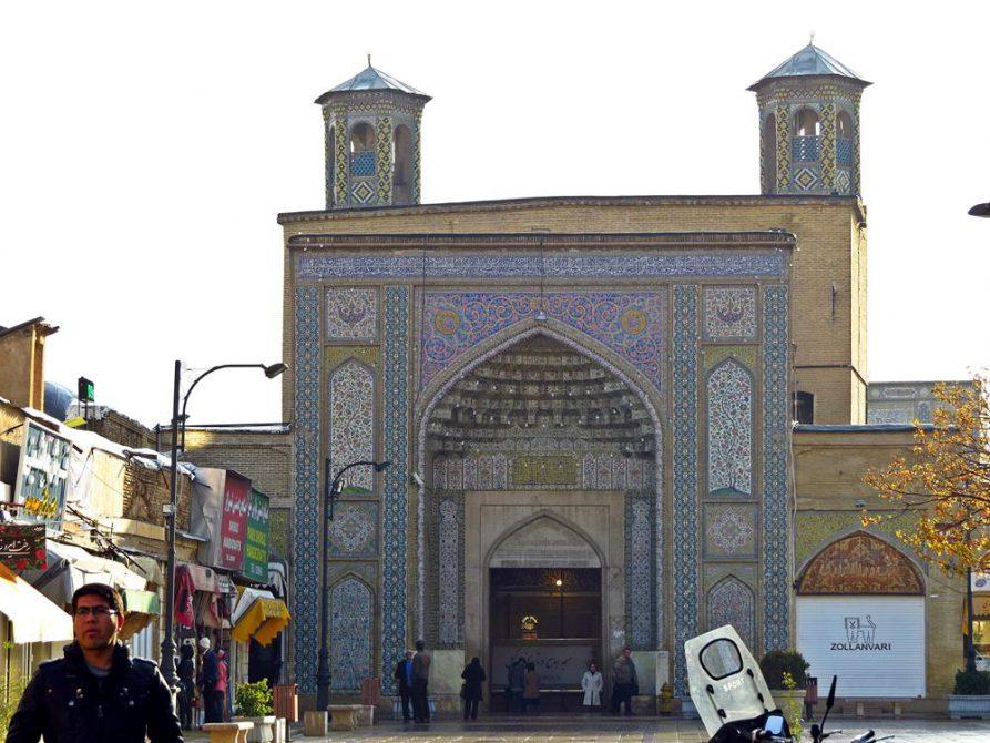 Eingangsportal der Vakil Moschee, Schiras, Iran
