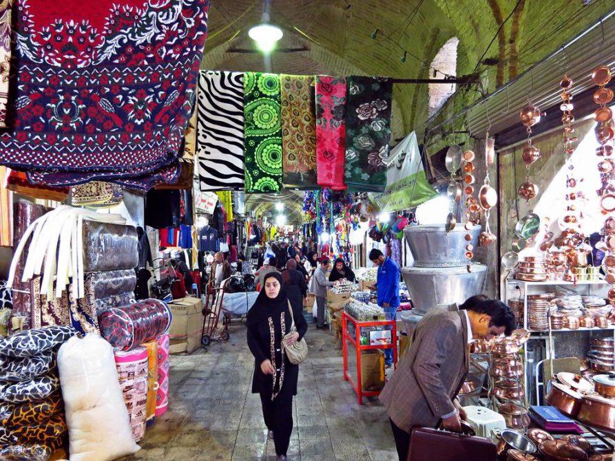 Besuch auf dem Vakil Basar, Schiras, Iran