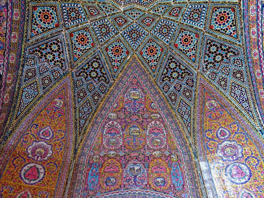 Nasir-al-Molk Moschee, Schiras, Iran