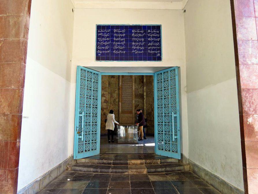 Eingang zum Grabmal