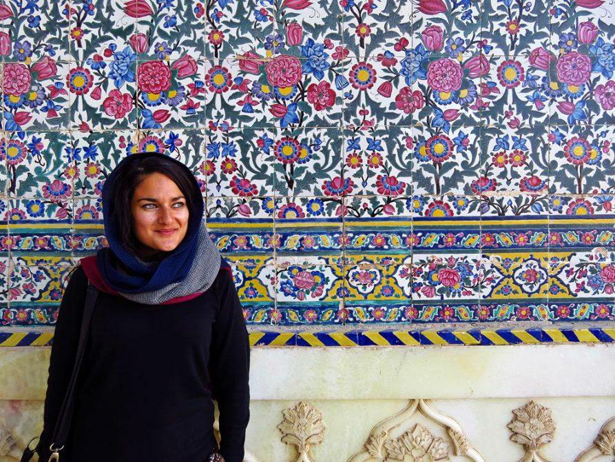 Wanddekoration in der Vakil Moschee