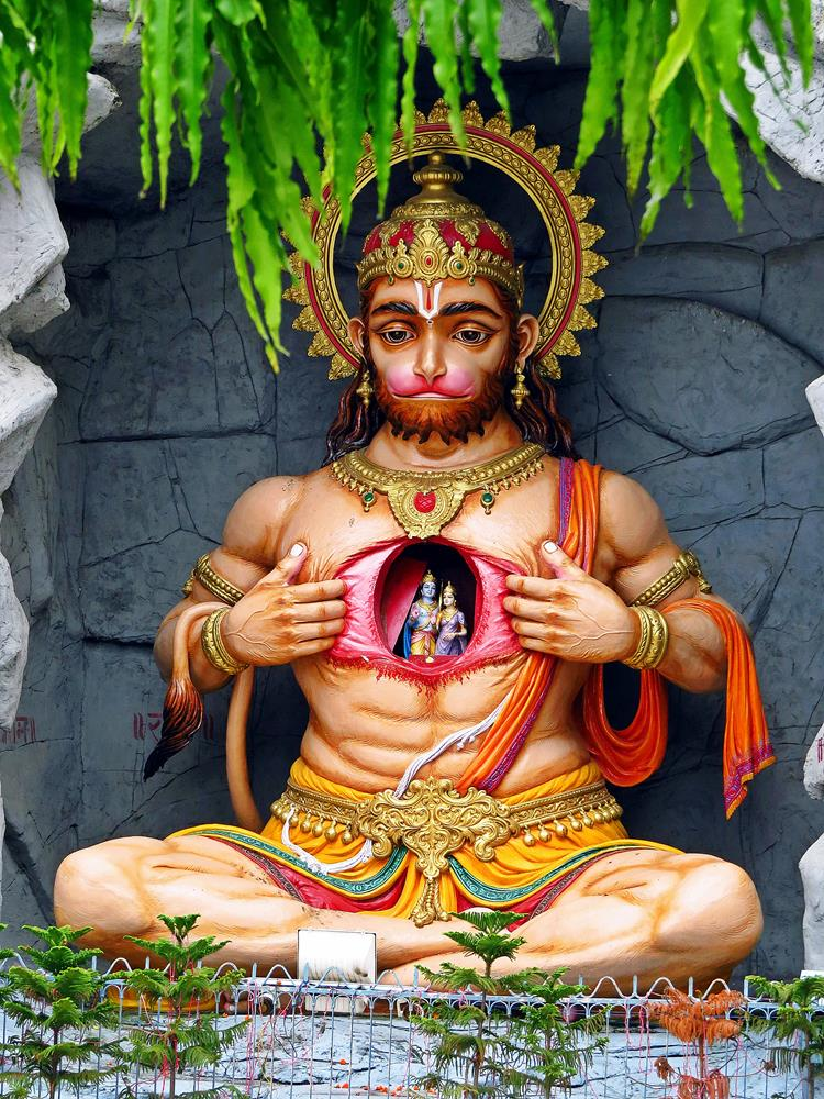 Hanuman, Affengott, Indien