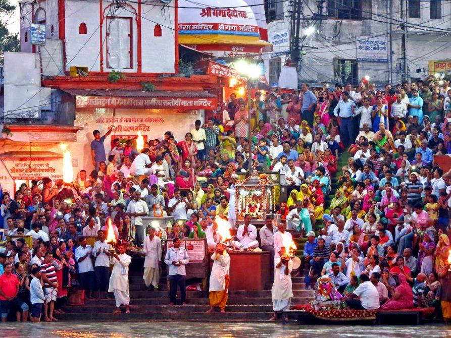 Puja, Haridwar, Indien