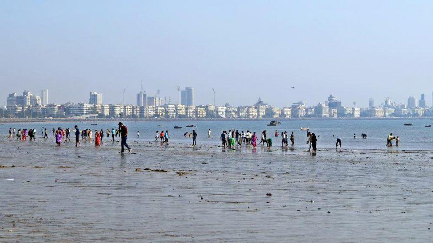 Strand, Mumbai, Indien