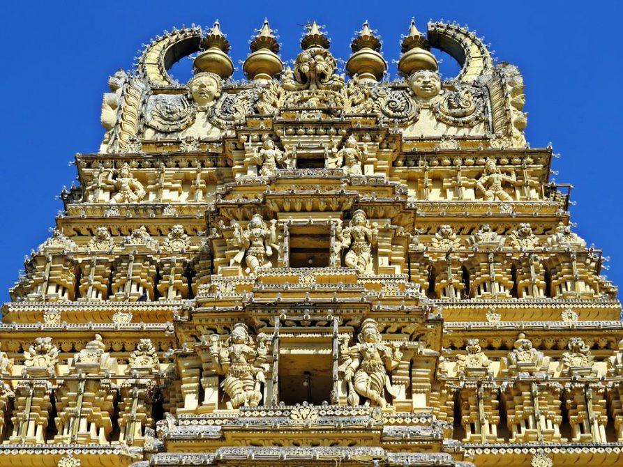 Tempel, Mysore, Tamil Nadu, Indien
