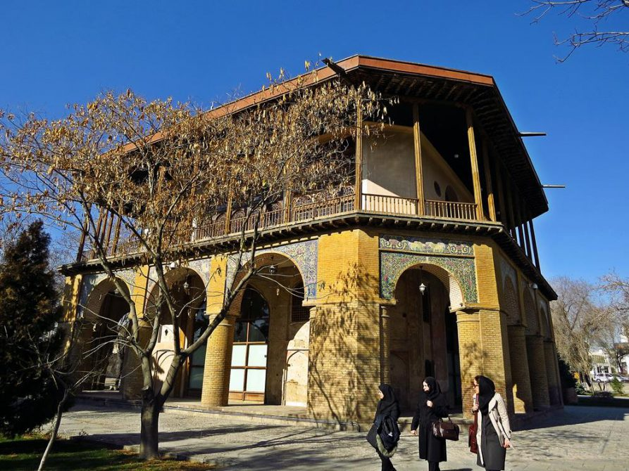 Tschehel Sotun Palast, Qazvin