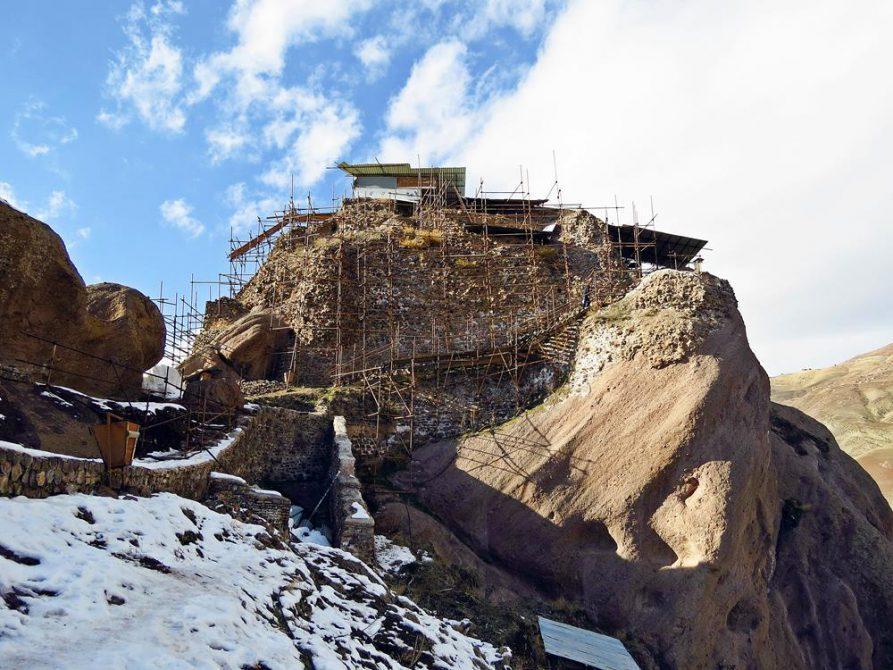 eisige Festung Alamut