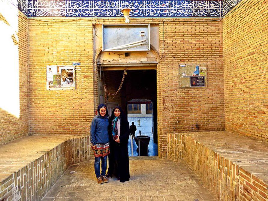 unterwegs mit Maryam in Ghom