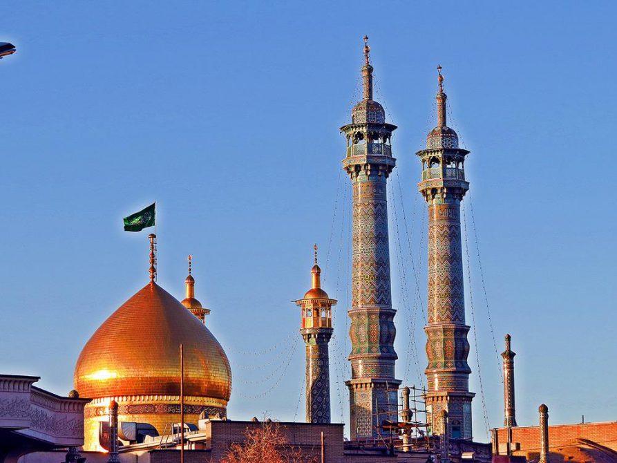 goldene Kuppel des Hazrat-e Masumeh, Ghom, Iran