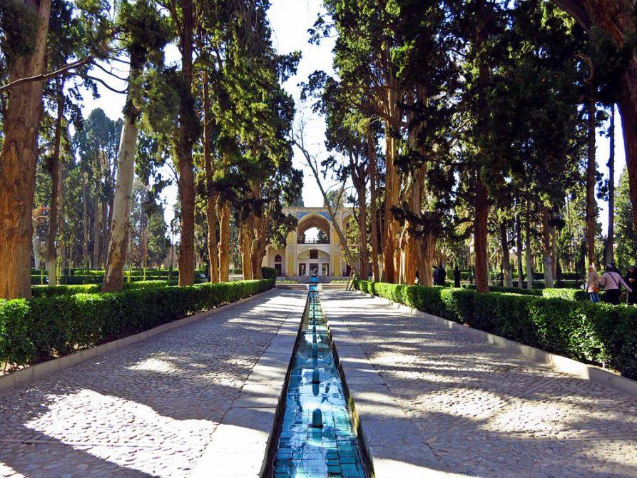 Wasserlauf im Fin-Garten, Kashan, Iran