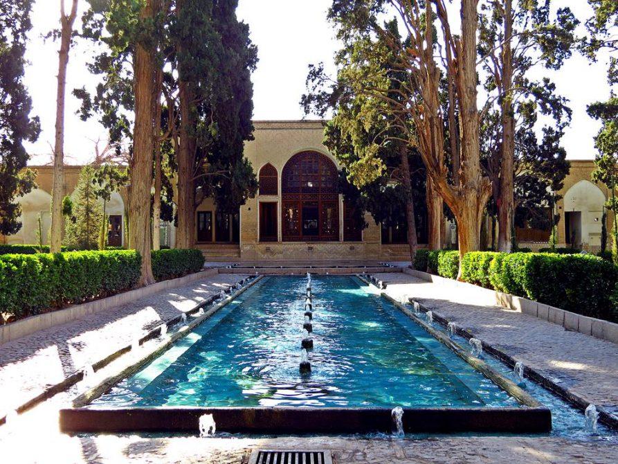 Fin-Garten im persischen Stil in Kashan