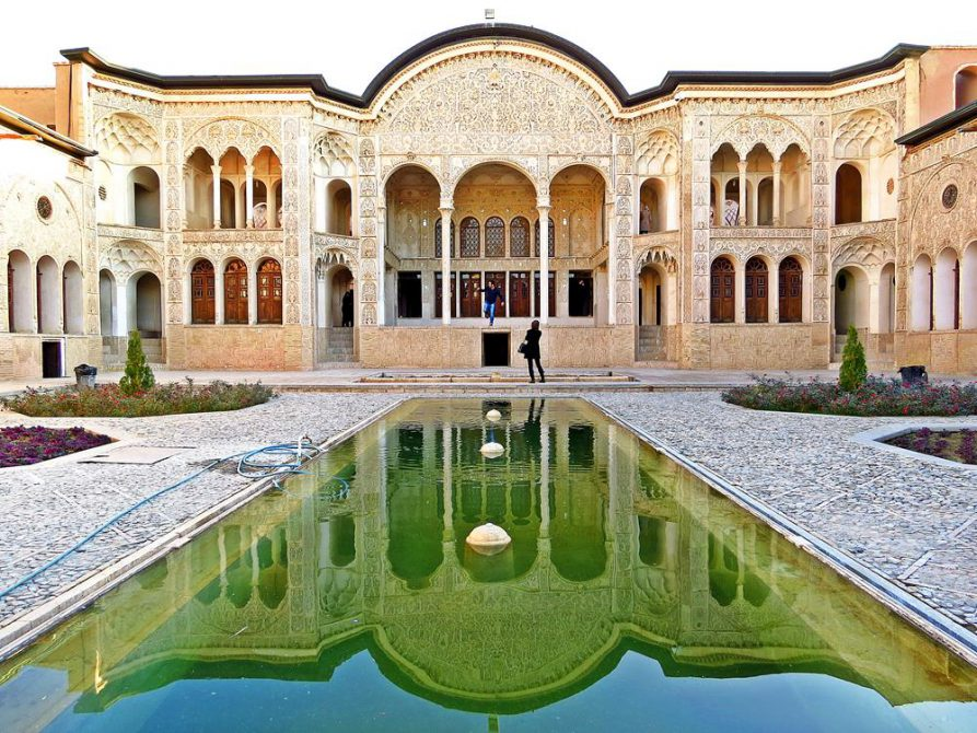 Haus des früheren Teppichhändlers Tabatabei, Kashan, Iran