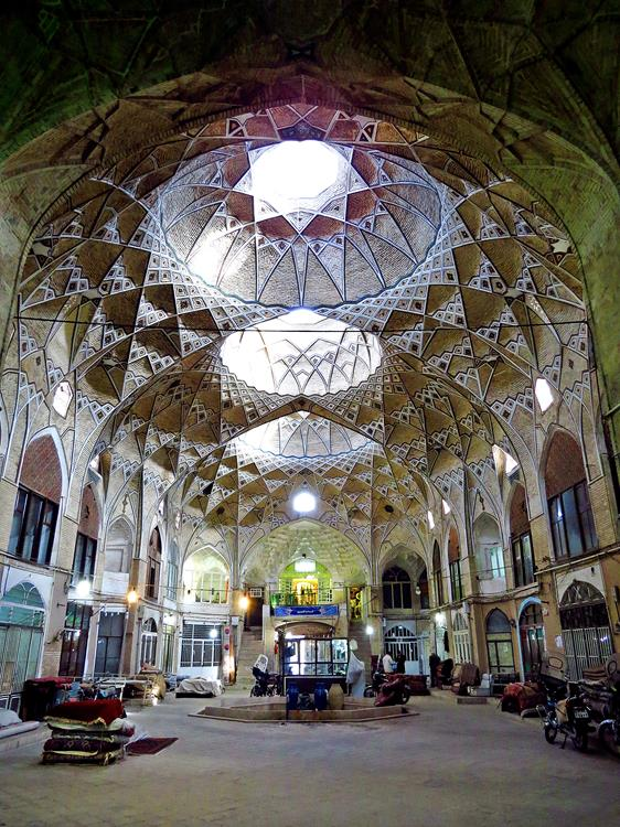 Ghoms historischer Markt
