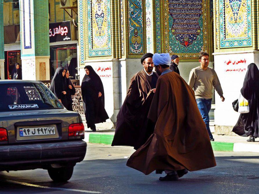 Stadtbild in Ghom, Iran