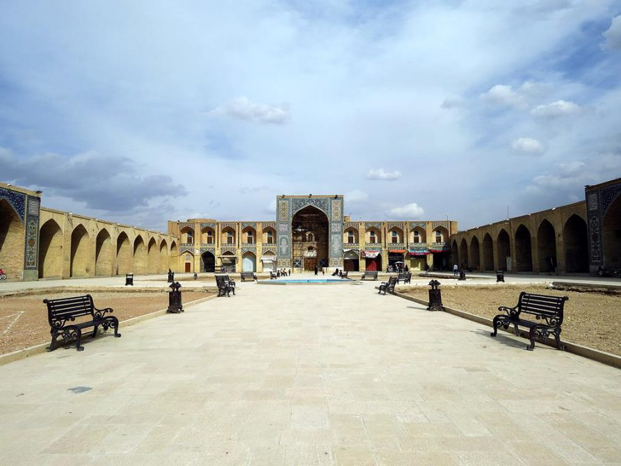 ehemalige Karawanserei am Ganjali Khan Platz, Kerman
