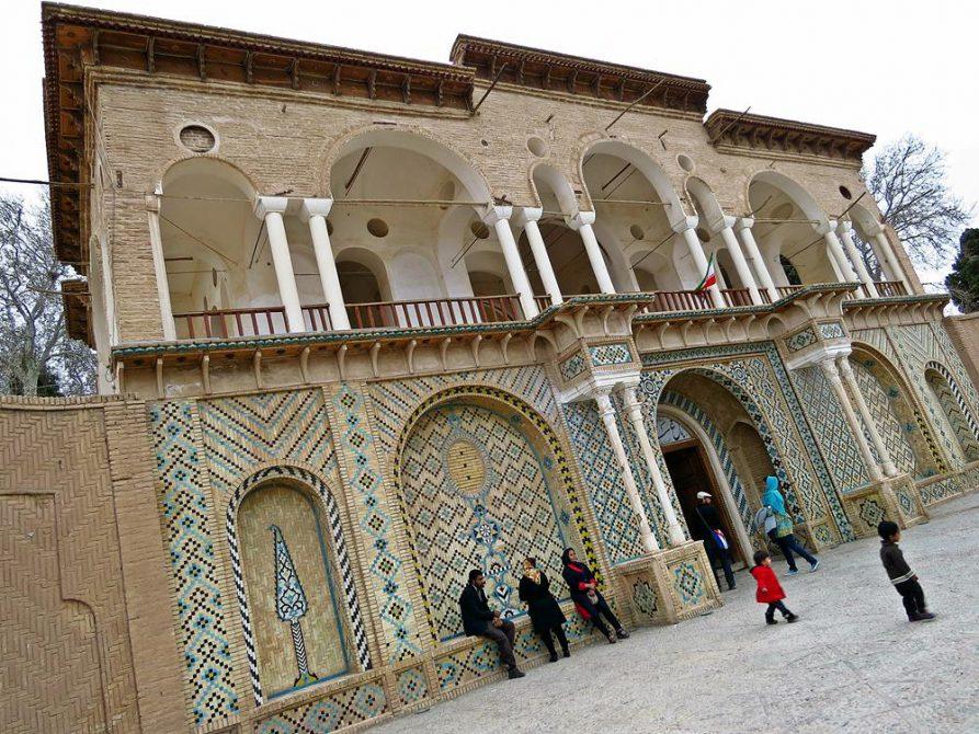 Eingangstor zum Schahzadeh Garten