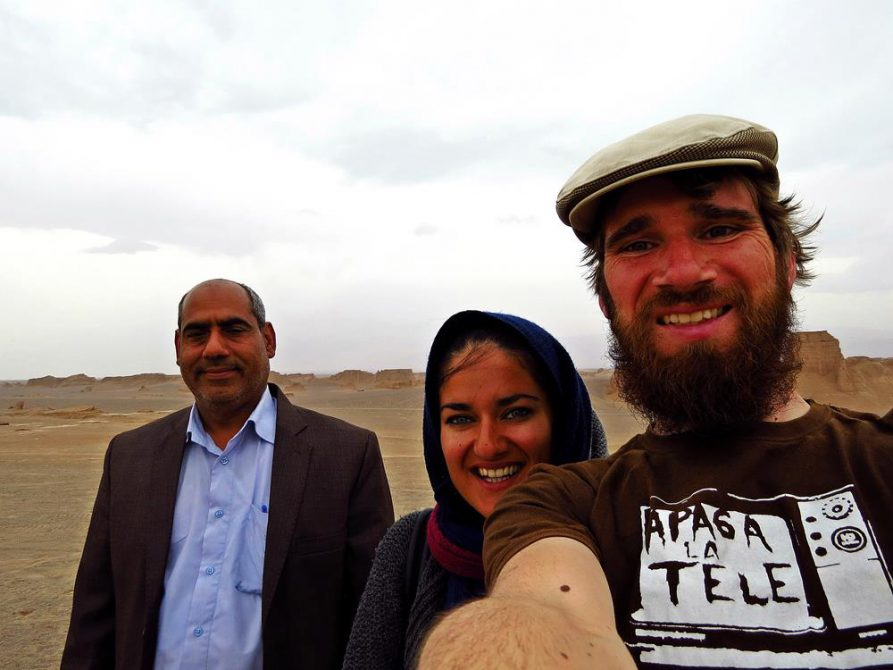 Gruppenfoto, Wüste Lut, Kaluts