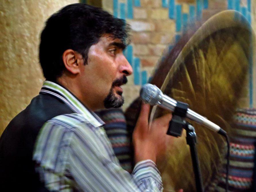 Musiker im Vakil Hamam, Kerman