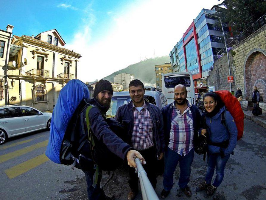 unsere Mitfahrgelegenheit nach Trabzon