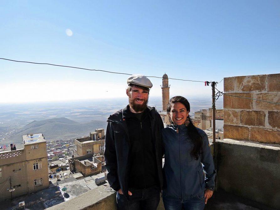 Dachterrasse über Mardin