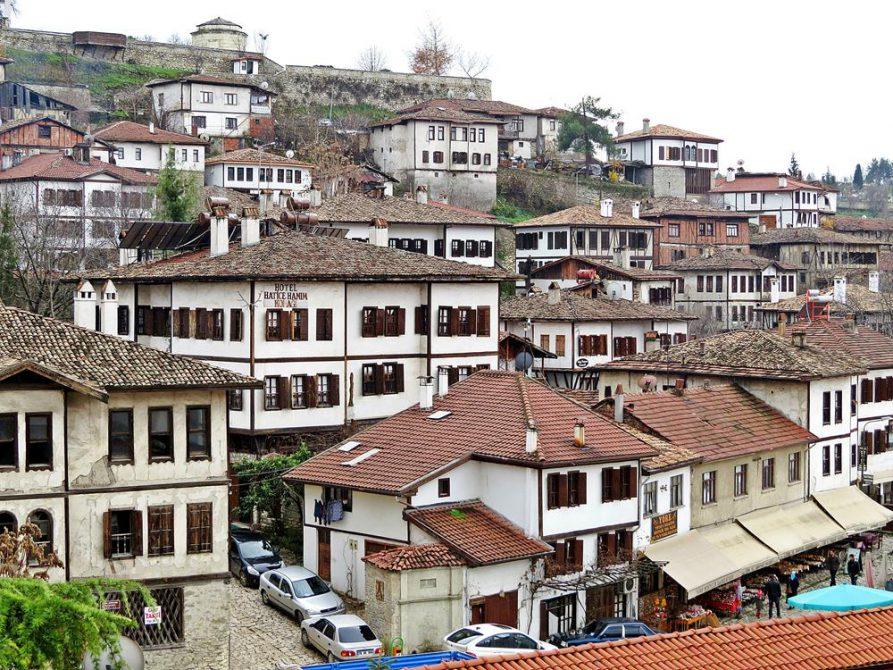 osmanische Fachwerkbauten in Safranbolu