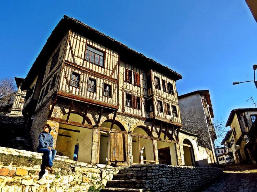 Fachwerk aus dem Osmanischen Reich in Safranbolu