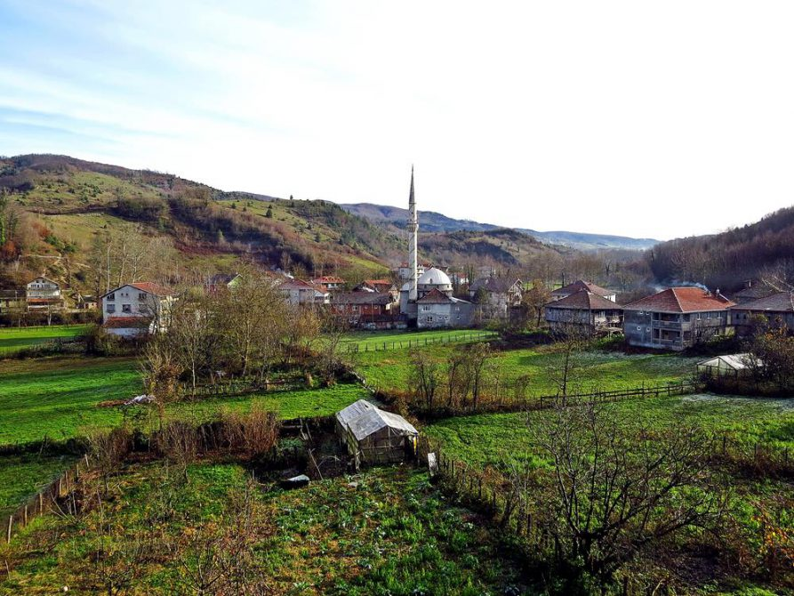 das Dorf Ayaz am Schwarzen Meer