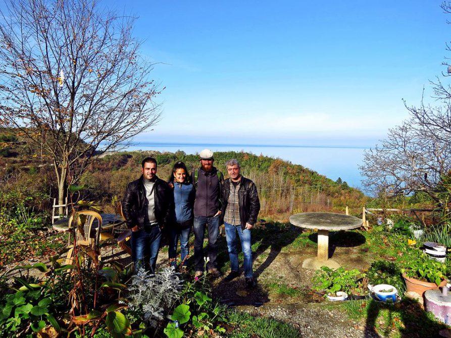 unsere Mitfahrgelegenheit nach Sinop entlang des Schwarzen Meeres