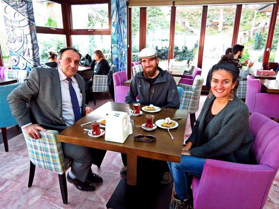 Mehmet bringt uns von Sinop nach Samsun