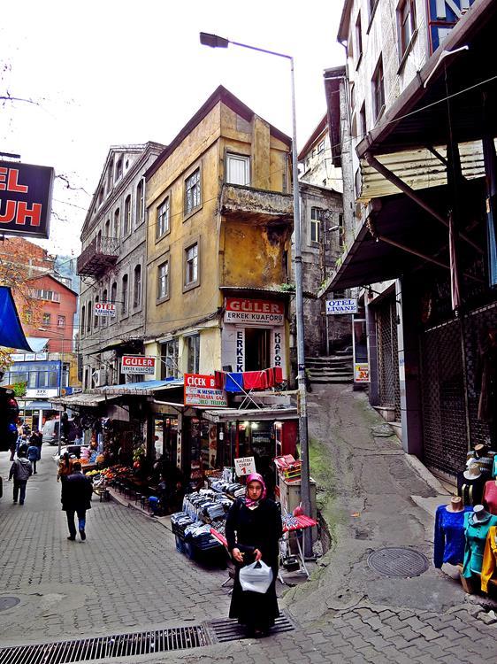 in den Straßen von Trabzon