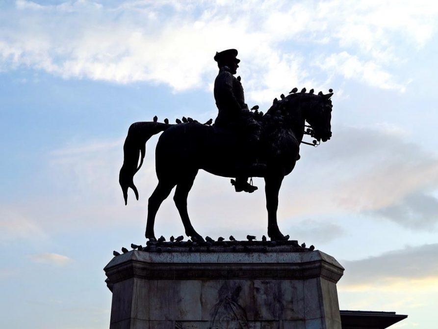 Reiterstatue Atatürk, Ankara, Türkei