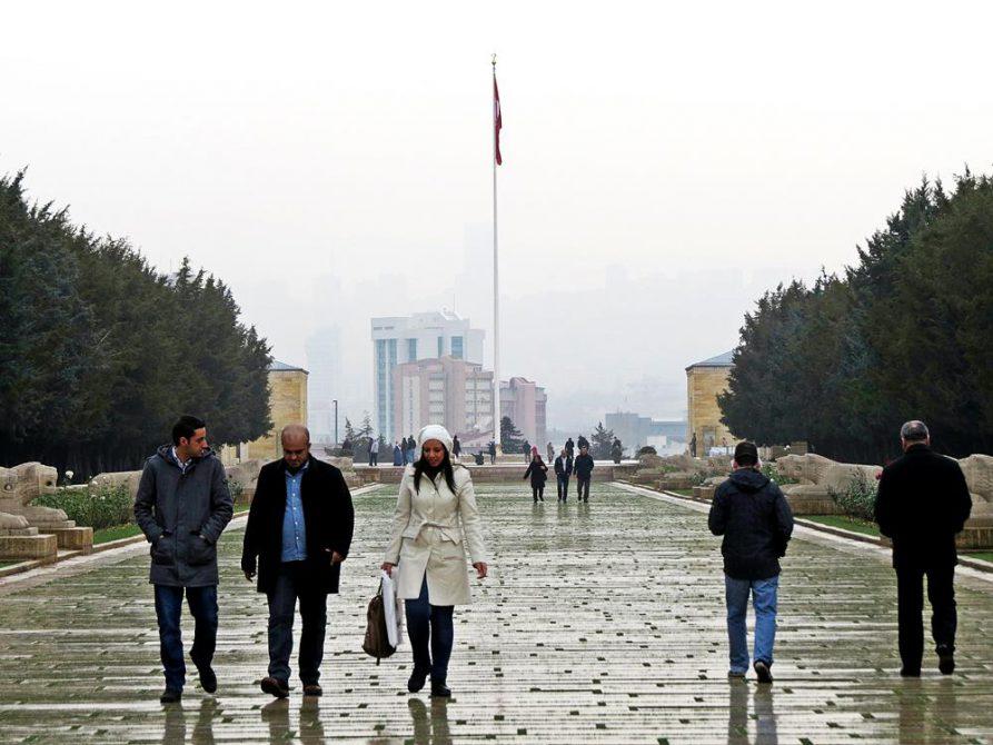 Prachtstraße zum Atatürk Mausoleum, Ankara