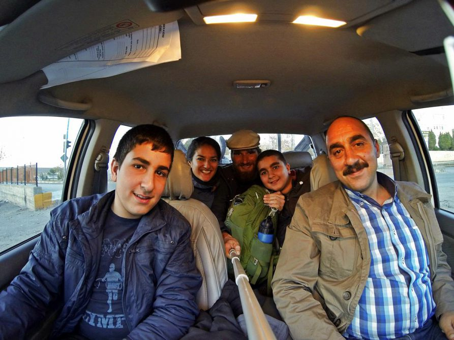trampen in der Türkei