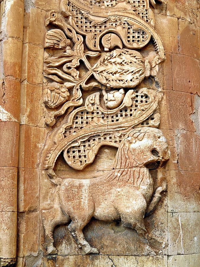 Verzierungen am Eingangsportal des Ishak-Pascha-Palast, Doğubeyazıt