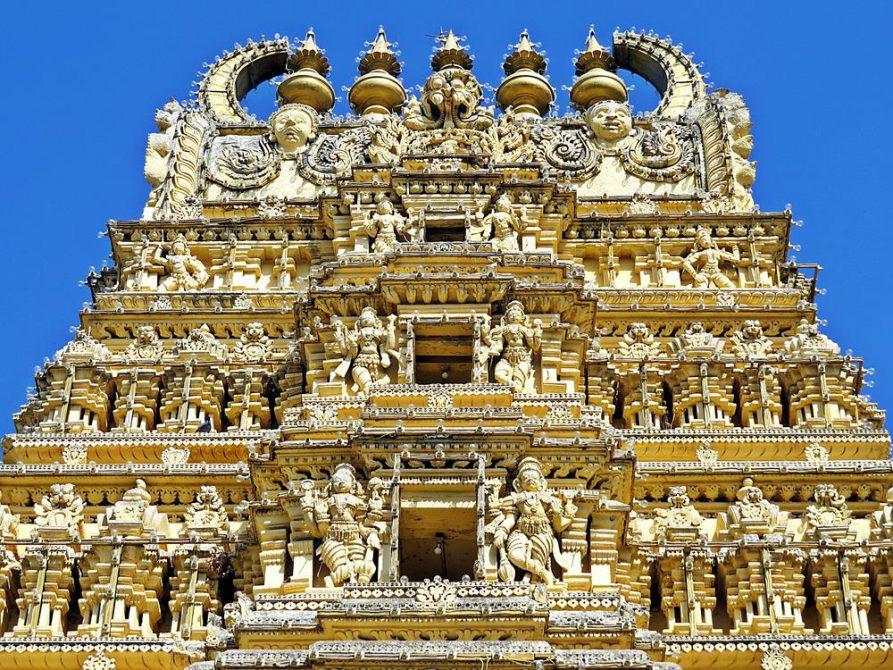Indien-Kuriositäten-Tempel