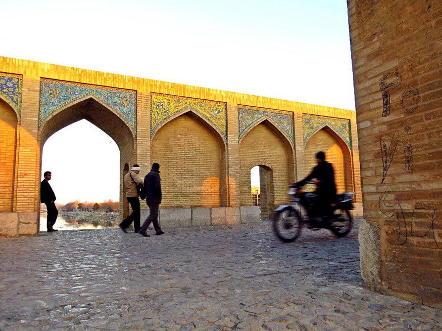 Khaju-Brücke, Isfahan, Iran