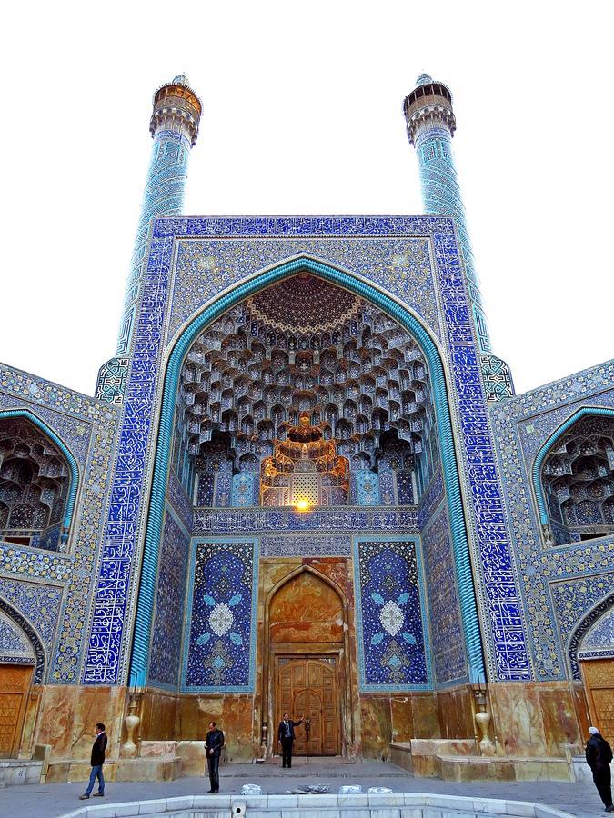 Eingangsportal zur Moschee des Königs, Isfahan