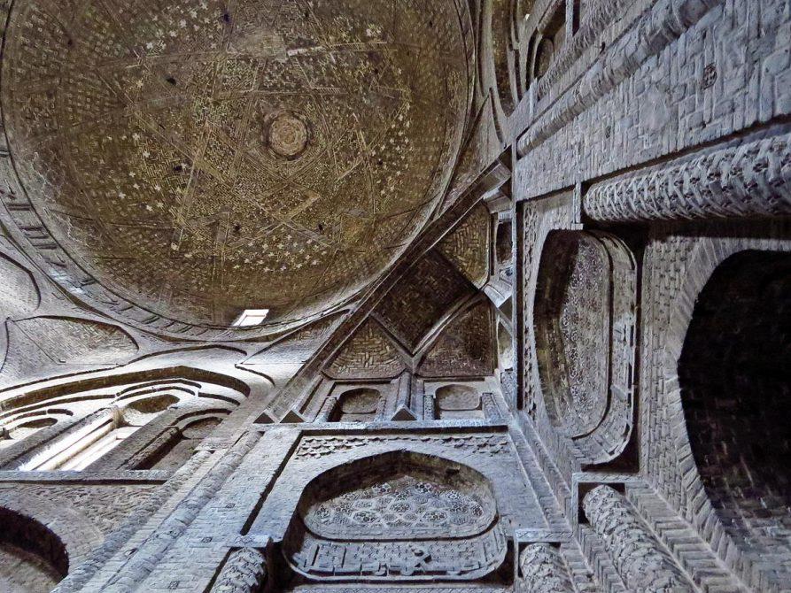 Taj-al Molk Kuppel, Isfahan, Iran