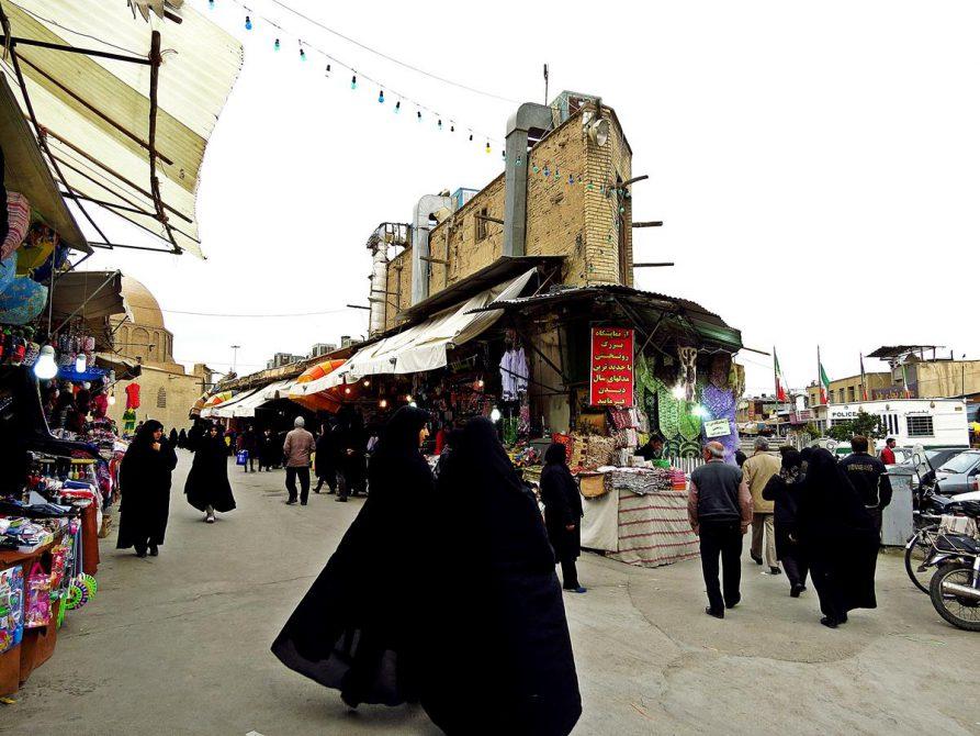 Straßenszene, Isfahan, Iran
