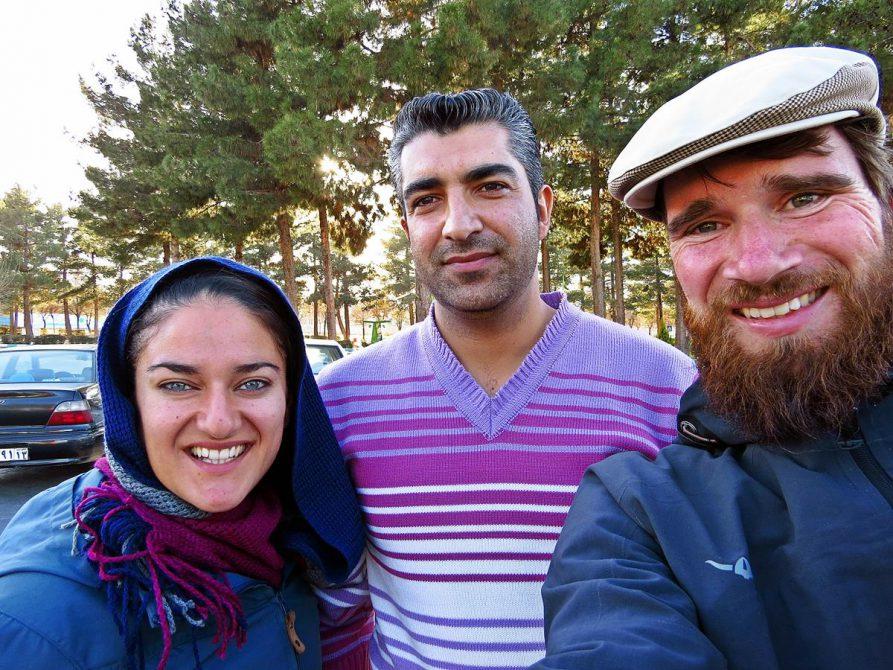 Trampen nach Isfahan