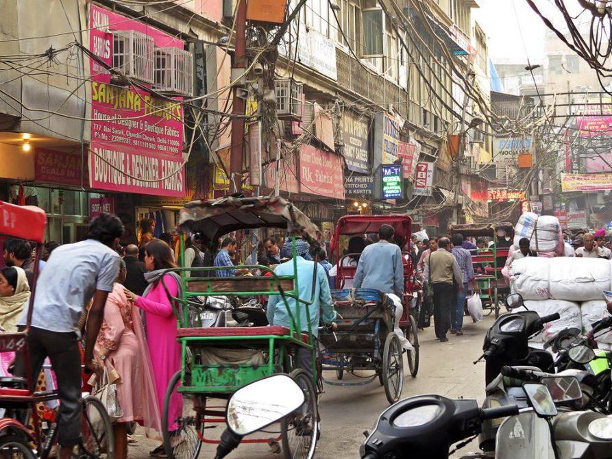 Delhi, Indien, Rückkehr Deutschland