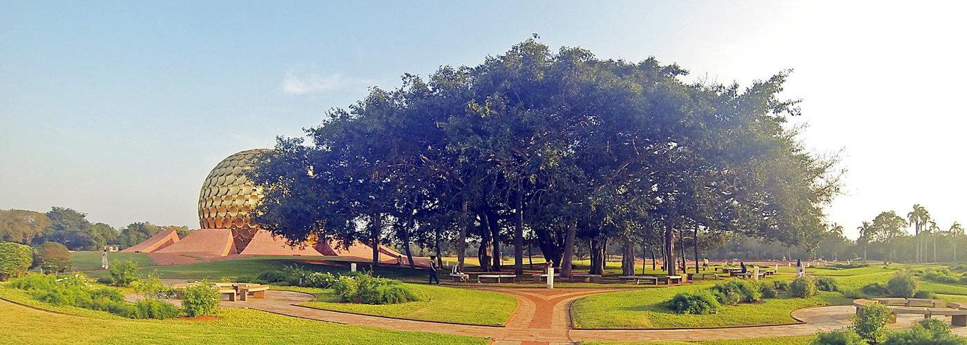 Auroville, Matrimandir, Leben in der Stadt der Zukunft