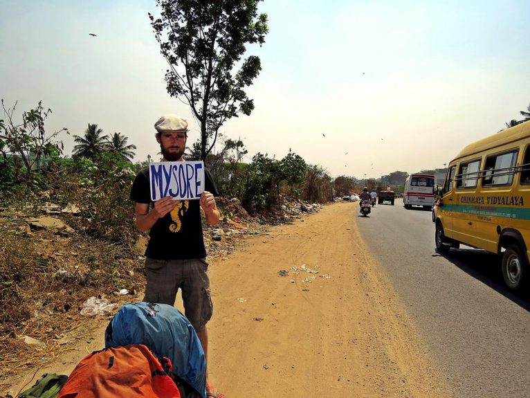 trampen in Indien, Kuriositäten