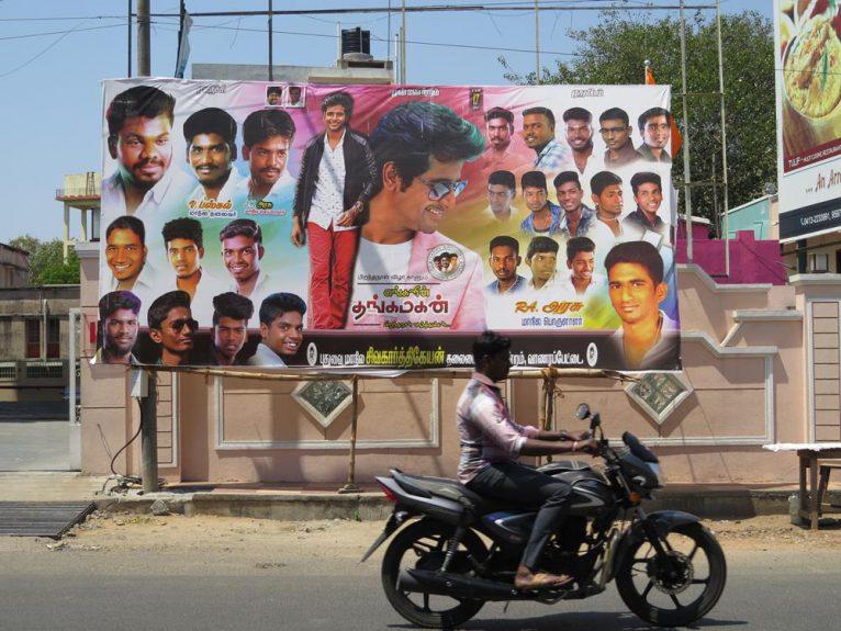 Plakat, Indien