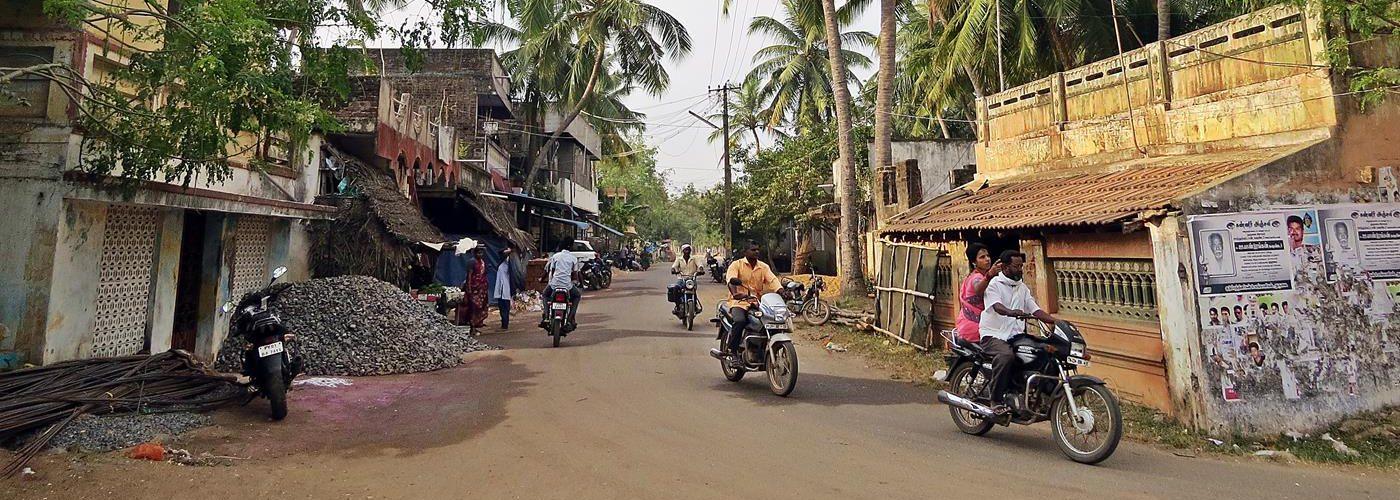 Auroville, Dörfer